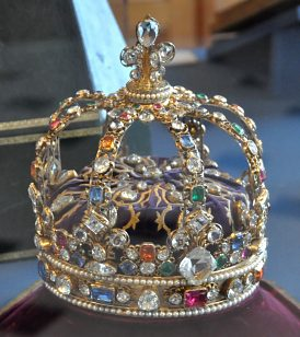 Copie de la couronne de Louis XV