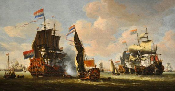 deuxième Guerre Anglo-hollandaise.