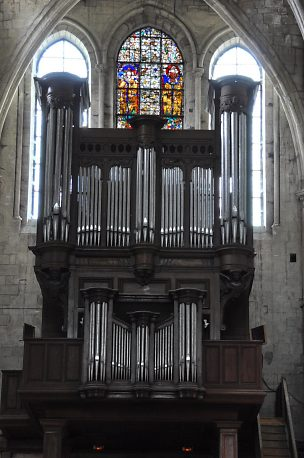 L'orgue de tribune du XVIIe siècle