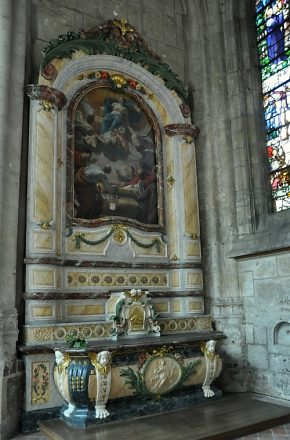 Retable de la chapelle Saint-Pierre