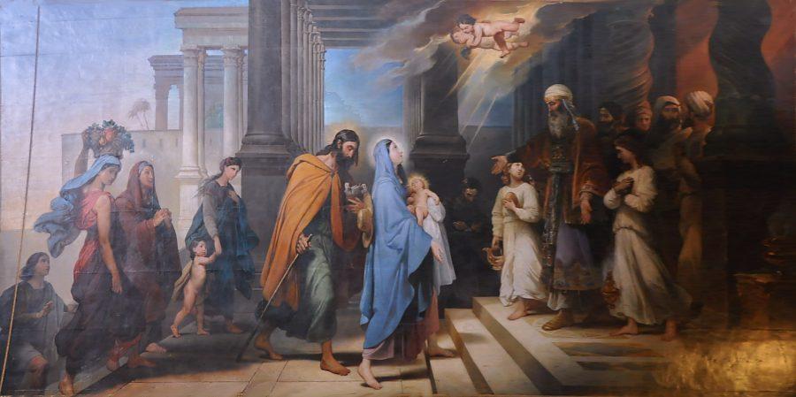 """Résultat de recherche d'images pour """"Tableau de la présentation de Jésus au temple"""""""