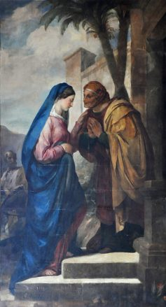 «La Visitation» par Amable-Paul Coutan