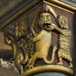 Eglise saint germain des pr s paris art roman paris for Carrelage du sud boulevard saint germain
