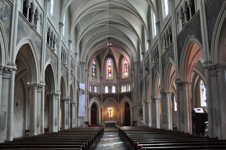 Vue générale de la nef de Saint-Joseph Artisan