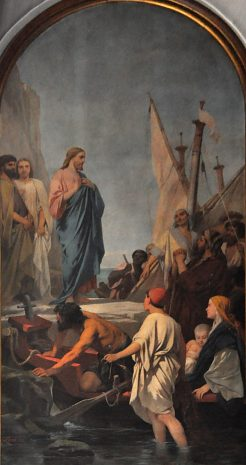 «La Prédication du Christ», 1863