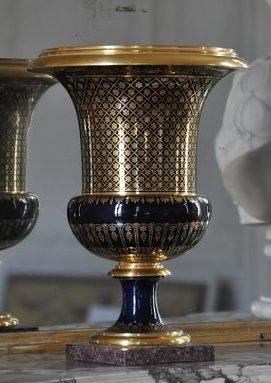 Vase de Sèvres de forme Médicis