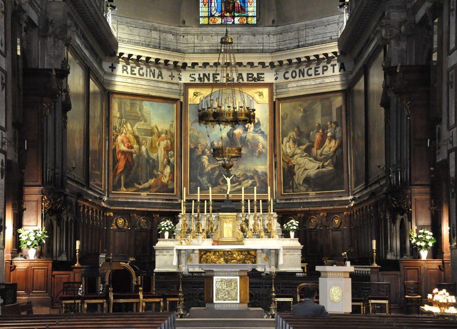 La Sainte Vierge Marie - La Foi et les Œuvres volume 3 – Vicomte Walsh 19 eme siècle  ParNDdV53