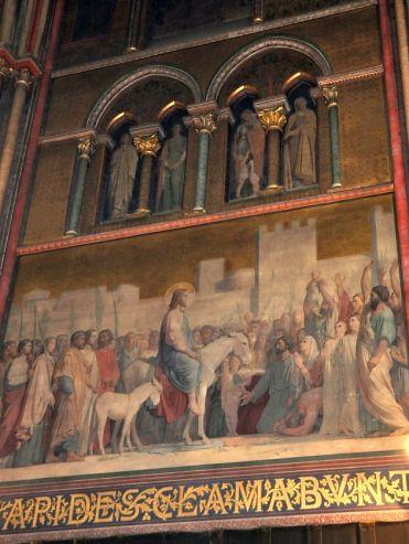 Eglise saint germain des pr s paris art roman paris for Types de peintures murales