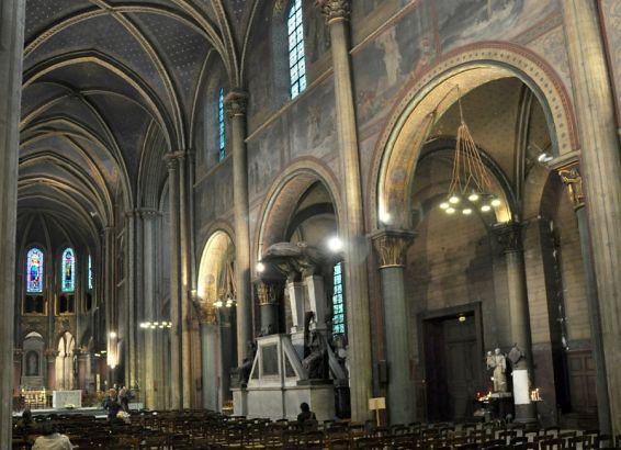 Eglise saint germain des pres for St germain des pres code postal