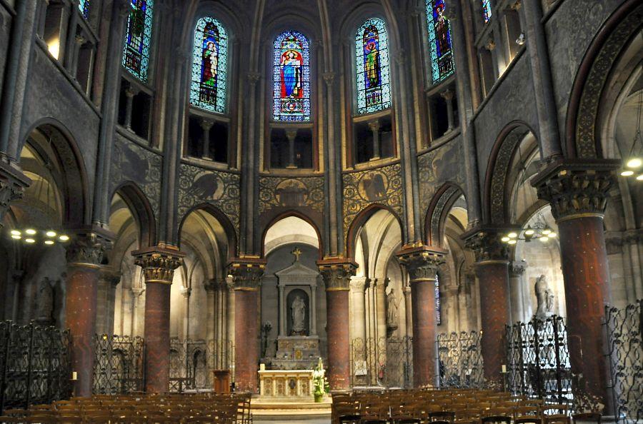 Eglise Saint Germain des Prés à Paris, art roman à Paris