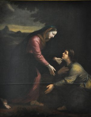 «La Visitation», toile attribuée à Jacques Blanchard