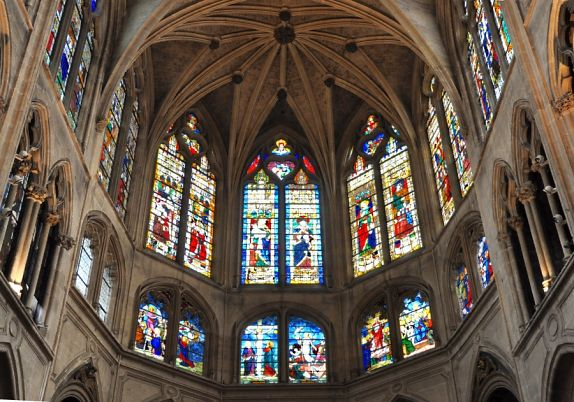 Eglise saint s verin paris style gothique flamboyant glises paris - Une cathedrale gothique ...