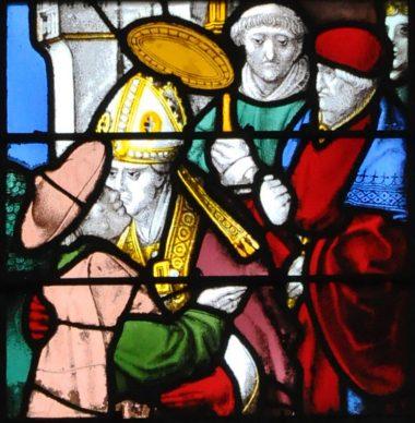 Collatéral nord : Vie de saint Martin (Arnoult de Nimègue, début XVIe siècle)