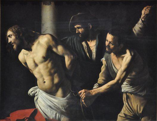 «La Flagellation du Christ à la colonne», vers 1606-1607.