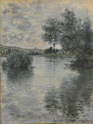 «La Seine à Vétheuil», 1879.