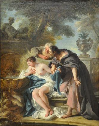 «Suzanne et les vieillards», 1727.